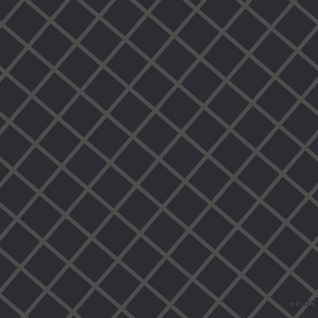 49/139 degree angle diagonal checkered chequered lines, 6 pixel line width, 44 pixel square size, Thunder and Bastille plaid checkered seamless tileable