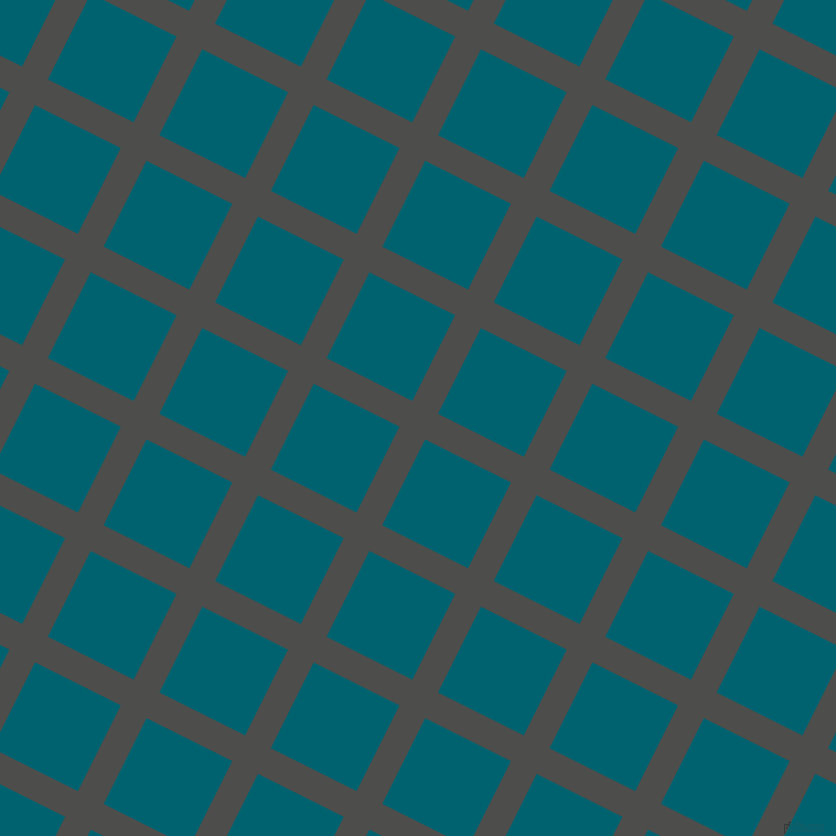 63/153 degree angle diagonal checkered chequered lines, 26 pixel lines width, 87 pixel square size, Thunder and Blue Lagoon plaid checkered seamless tileable