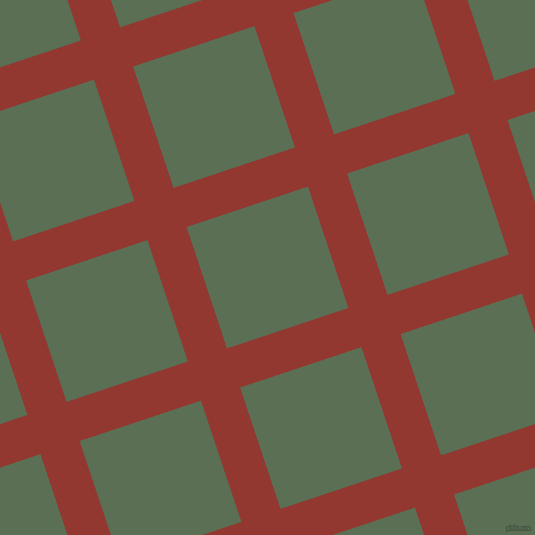 18/108 degree angle diagonal checkered chequered lines, 60 pixel line width, 186 pixel square size, Thunderbird and Cactus plaid checkered seamless tileable