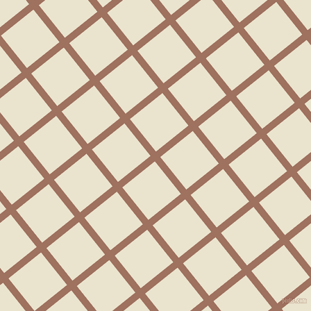 39/129 degree angle diagonal checkered chequered lines, 10 pixel line width, 60 pixel square size, Toast and Orange White plaid checkered seamless tileable