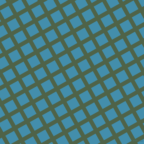 29/119 degree angle diagonal checkered chequered lines, 14 pixel lines width, 34 pixel square size, Tom Thumb and Boston Blue plaid checkered seamless tileable