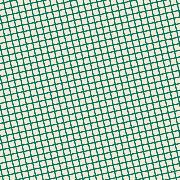 13/103 degree angle diagonal checkered chequered lines, 4 pixel line width, 17 pixel square size, Tropical Rain Forest and Half Pearl Lusta plaid checkered seamless tileable