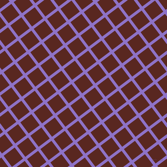 37/127 degree angle diagonal checkered chequered lines, 10 pixel lines width, 48 pixel square size, True V and Caput Mortuum plaid checkered seamless tileable