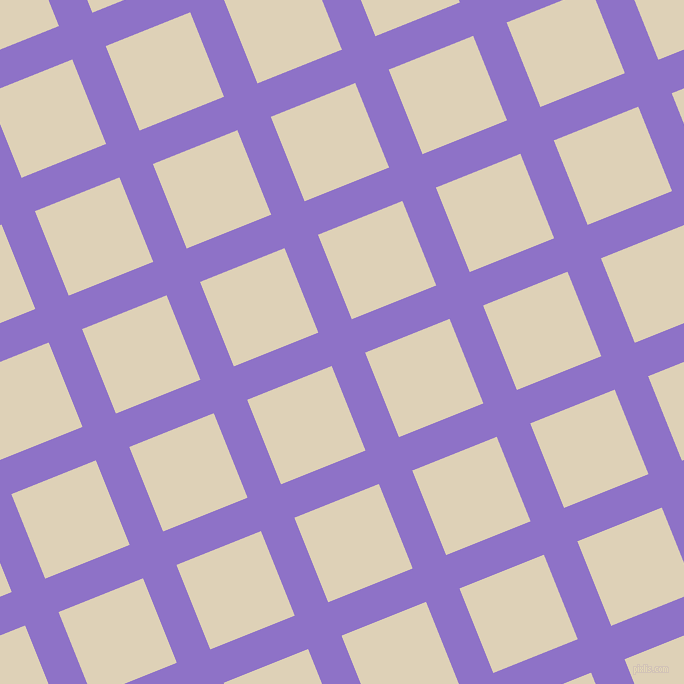 22/112 degree angle diagonal checkered chequered lines, 36 pixel line width, 91 pixel square size, True V and Spanish White plaid checkered seamless tileable