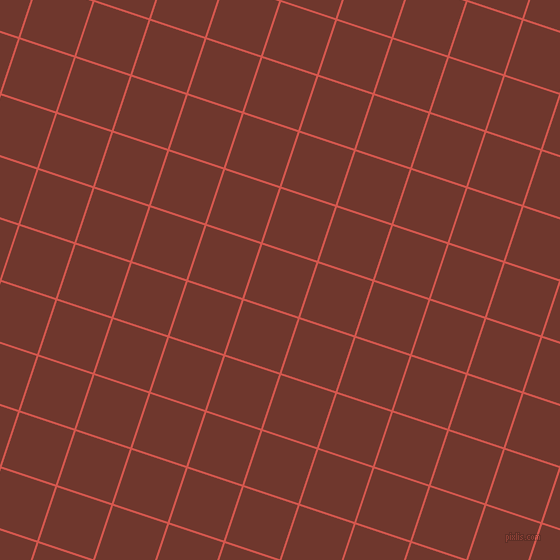 72/162 degree angle diagonal checkered chequered lines, 2 pixel line width, 57 pixel square size, Valencia and Mocha plaid checkered seamless tileable