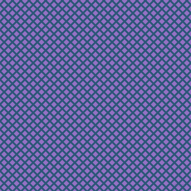 45/135 degree angle diagonal checkered chequered lines, 6 pixel line width, 13 pixel square size, Venice Blue and Lilac Bush plaid checkered seamless tileable