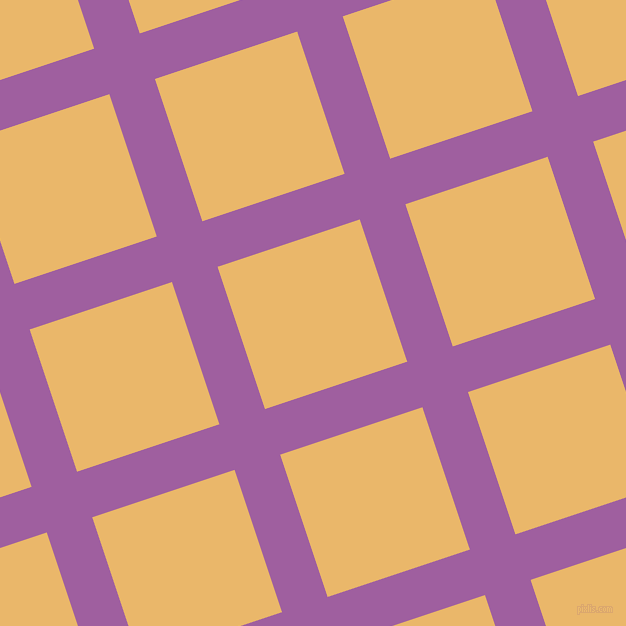 18/108 degree angle diagonal checkered chequered lines, 48 pixel lines width, 150 pixel square sizeViolet Blue and Harvest Gold plaid checkered seamless tileable