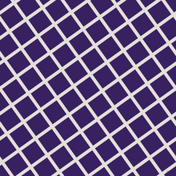 36/126 degree angle diagonal checkered chequered lines, 14 pixel line width, 73 pixel square size, Vista White and Christalle plaid checkered seamless tileable