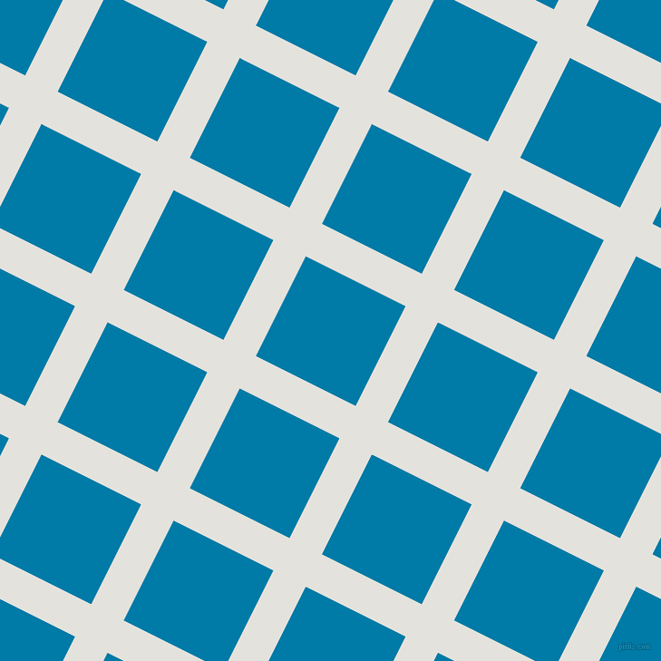 63/153 degree angle diagonal checkered chequered lines, 40 pixel lines width, 123 pixel square size, Wan White and Cerulean plaid checkered seamless tileable