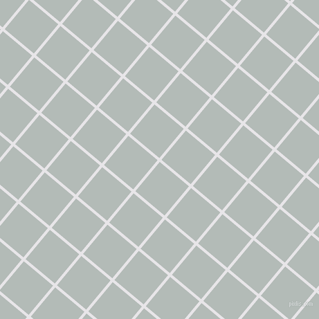 50/140 degree angle diagonal checkered chequered lines, 4 pixel lines width, 55 pixel square size, White Lilac and Loblolly plaid checkered seamless tileable