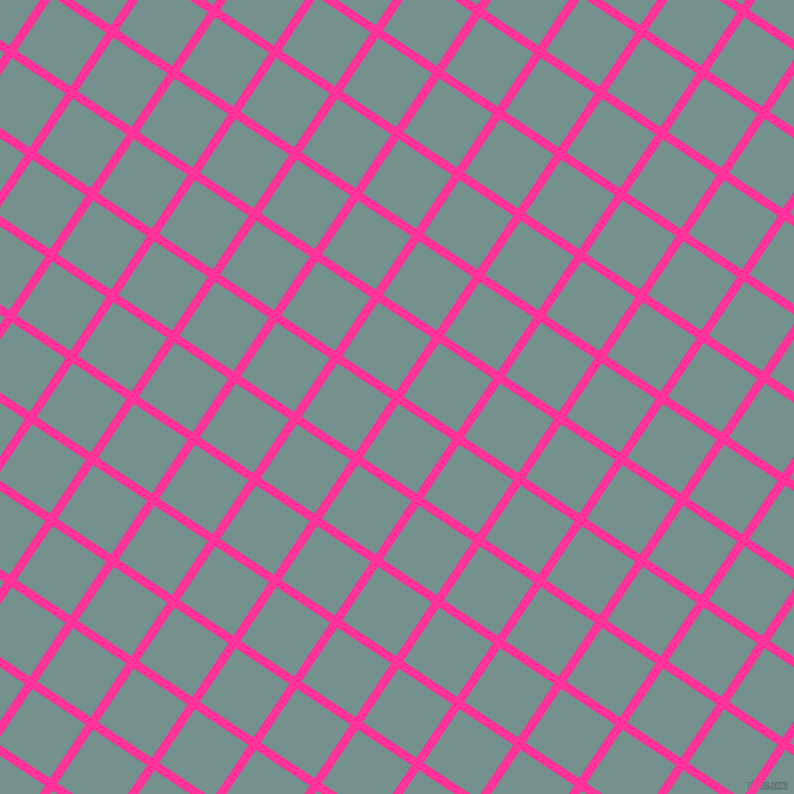 56/146 degree angle diagonal checkered chequered lines, 8 pixel line width, 59 pixel square size, Wild Strawberry and Juniper plaid checkered seamless tileable