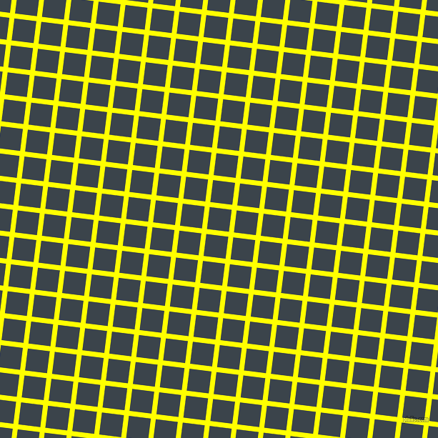 83/173 degree angle diagonal checkered chequered lines, 7 pixel line width, 31 pixel square sizeYellow and Arsenic plaid checkered seamless tileable