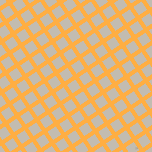 34/124 degree angle diagonal checkered chequered lines, 14 pixel line width, 33 pixel square size, Yellow Orange and Cloud plaid checkered seamless tileable