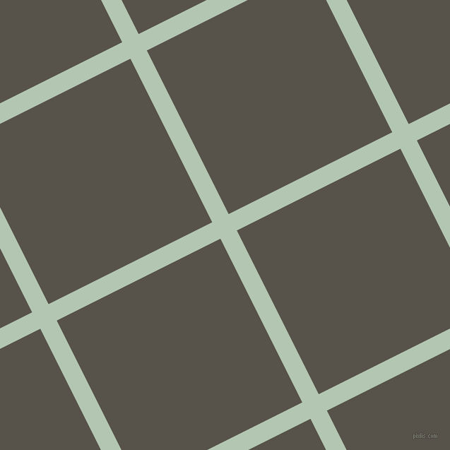 27/117 degree angle diagonal checkered chequered lines, 26 pixel line width, 259 pixel square size, Zanah and Masala plaid checkered seamless tileable