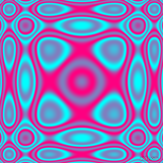 , Aqua and Deep Pink plasma wave seamless tileable