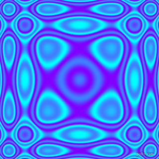 , Aqua and Electric Indigo plasma wave seamless tileable