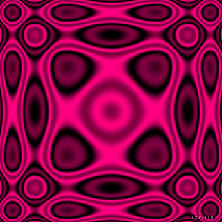 Black and Deep Pink plasma wave seamless tileable