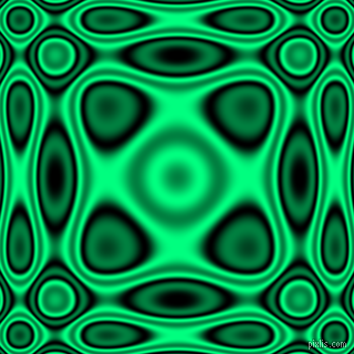 Black and Spring Green plasma wave seamless tileable