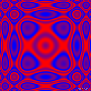 , Blue and Red plasma wave seamless tileable
