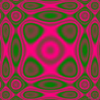 , Green and Deep Pink plasma wave seamless tileable
