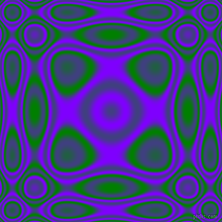 , Green and Electric Indigo plasma wave seamless tileable