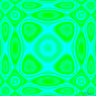 , Lime and Aqua plasma wave seamless tileable