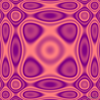 , Purple and Salmon plasma wave seamless tileable