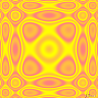 , Salmon and Yellow plasma wave seamless tileable