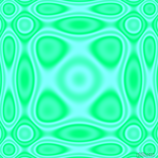 , Spring Green and Electric Blue plasma wave seamless tileable
