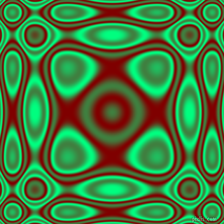 , Spring Green and Maroon plasma wave seamless tileable