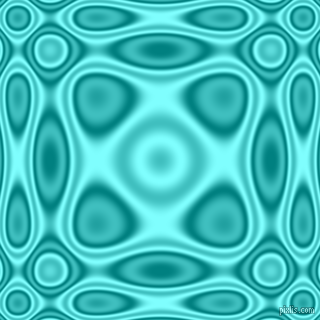 , Teal and Electric Blue plasma wave seamless tileable