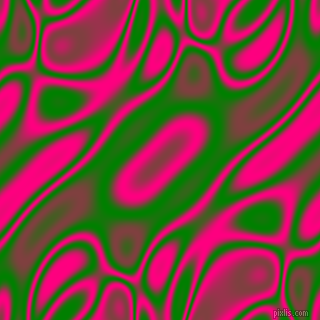 Green and Deep Pink plasma waves seamless tileable