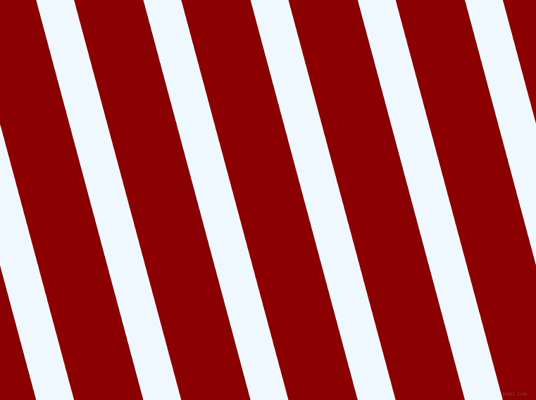 105 degree angle lines stripes, 52 pixel line width, 95 pixel line spacing, Alice Blue and Dark Red stripes and lines seamless tileable