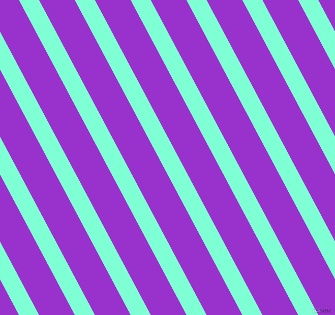 118 degree angle lines stripes, 35 pixel line width, 62 pixel line spacing, Aquamarine and Dark Orchid stripes and lines seamless tileable