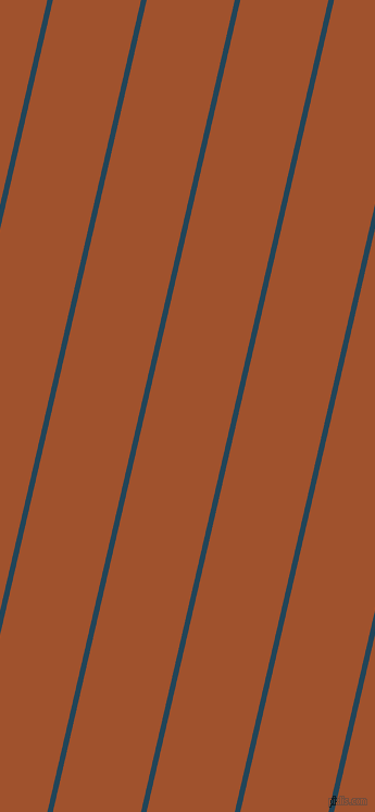 77 degree angle lines stripes, 5 pixel line width, 79 pixel line spacing, Astronaut Blue and Sienna stripes and lines seamless tileable