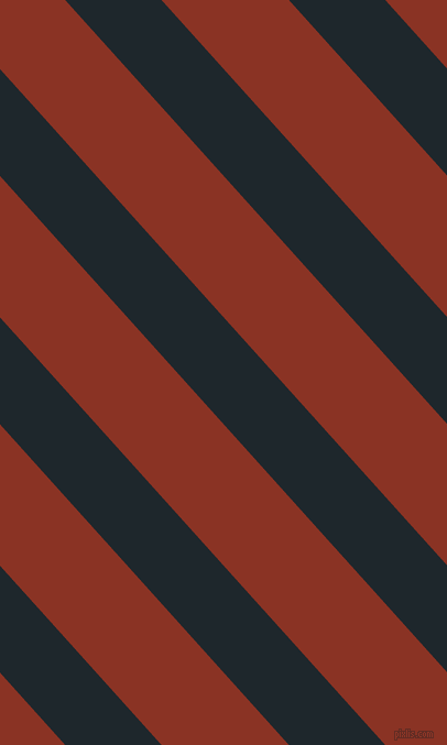 132 degree angle lines stripes, 65 pixel line width, 86 pixel line spacing, Black Pearl and Burnt Umber stripes and lines seamless tileable