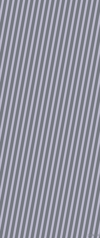 80 degree angle lines stripes, 7 pixel line width, 10 pixel line spacing, Blue Haze and Storm Grey stripes and lines seamless tileable