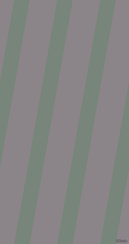 80 degree angle lines stripes, 49 pixel line width, 87 pixel line spacing, Blue Smoke and Taupe Grey stripes and lines seamless tileable