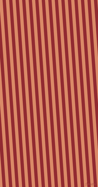 94 degree angle lines stripes, 11 pixel line width, 11 pixel line spacing, Bright Red and Copper stripes and lines seamless tileable