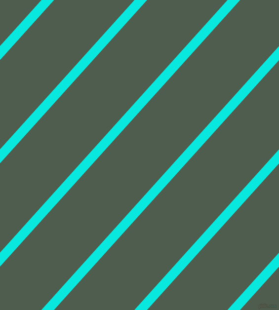 48 degree angle lines stripes, 19 pixel line width, 121 pixel line spacing, Bright Turquoise and Nandor stripes and lines seamless tileable