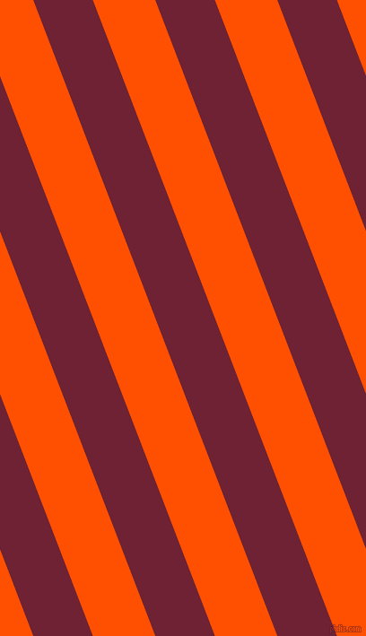 111 degree angle lines stripes, 62 pixel line width, 65 pixel line spacing, Claret and International Orange stripes and lines seamless tileable