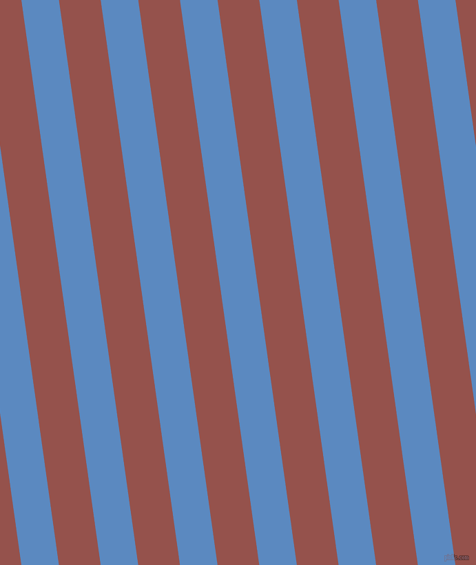 98 degree angle lines stripes, 54 pixel line width, 60 pixel line spacing, Danube and Copper Rust stripes and lines seamless tileable