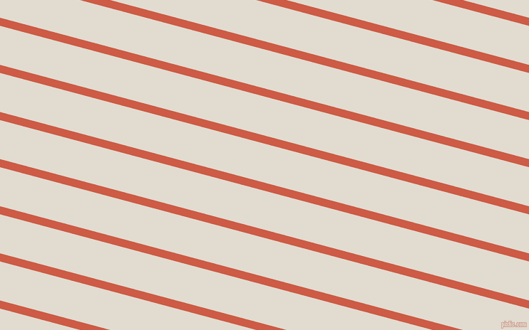 165 degree angle lines stripes, 11 pixel line width, 53 pixel line spacing, Dark Coral and Merino stripes and lines seamless tileable