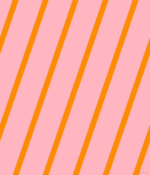 71 degree angle lines stripes, 19 pixel line width, 78 pixel line spacing, Dark Orange and Light Pink stripes and lines seamless tileable