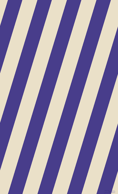 73 degree angle lines stripes, 46 pixel line width, 48 pixel line spacing, Dark Slate Blue and Pearl Lusta stripes and lines seamless tileable