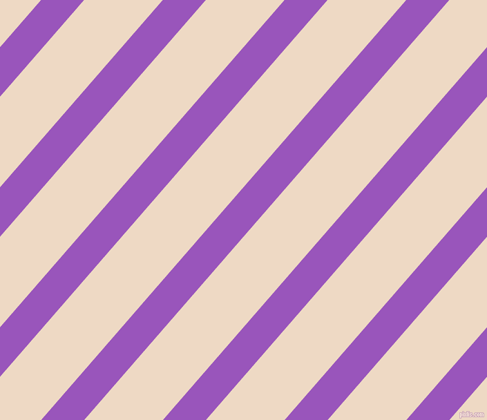 49 degree angle lines stripes, 47 pixel line width, 86 pixel line spacing, Deep Lilac and Almond stripes and lines seamless tileable