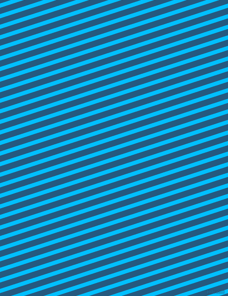 18 degree angle lines stripes, 8 pixel line width, 12 pixel line spacing, Deep Sky Blue and Bahama Blue stripes and lines seamless tileable