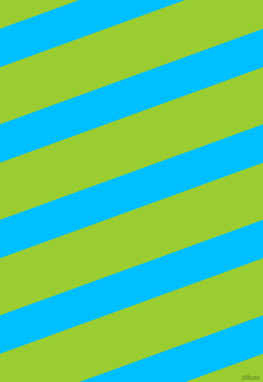 20 degree angle lines stripes, 74 pixel line width, 110 pixel line spacing, Deep Sky Blue and Yellow Green stripes and lines seamless tileable