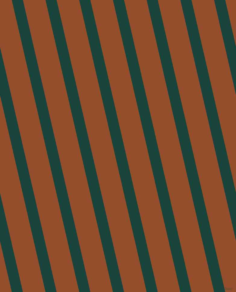 103 degree angle lines stripes, 36 pixel line width, 73 pixel line spacing, Deep Teal and Alert Tan stripes and lines seamless tileable