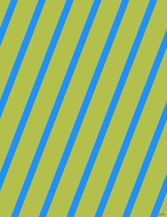 69 degree angle lines stripes, 23 pixel line width, 66 pixel line spacing, Dodger Blue and Celery stripes and lines seamless tileable